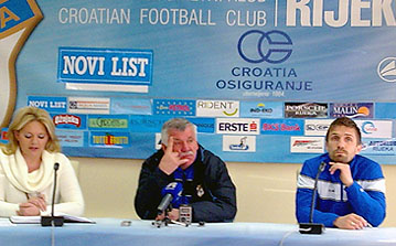 Trener Ivo Ištuk i kapetan Igor Čagalj